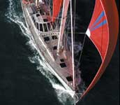Beowulf 80ft Dashew performance ketch 1997
